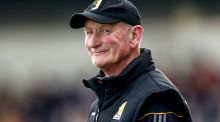 Kilkenny manager Brian Cody watched his team win another national title on Sunday. Photograph: James Crombie/Inpho