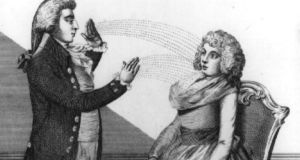 Many women reacted strongly to Anton Mesmer's magnetic therapies; some of them convulsing or falling unconscious.