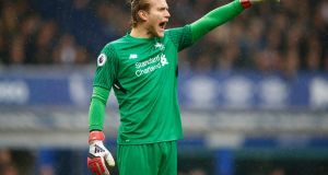 Loris Karius kept another clean sheet for Liverpool on Saturday. Photograph: Julian Finney/Getty Images
