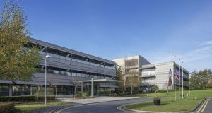 The leases on all four buildings in Blanchardstown, Dublin 15 are subject to rent reviews in 2019 and include break options in 2024