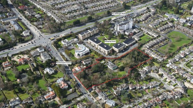 The site has 50m of frontage on to Newtownpark Avenue and is only a few minutes' walk to the N11 Stillorgan Road