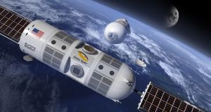 Houston-based Orion Span's Aurora Station is planned as a 35-by-14-foot module, or roughly the interior volume of a Gulfstream G550 private jet.