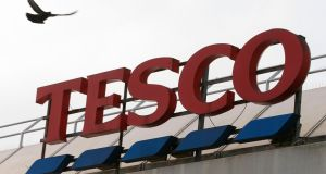 Tesco Ireland recorded a market share of 21.9 per cent in the 12 weeks ended March 25th. Photograph: Getty Images
