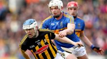 TJ Reid: series of impressive performances helped drive new-look Kilkenny to another league title. Photograph: James Crombie/Inpho