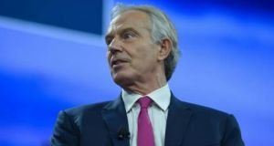 "Tony Blair: ""At the end of the day the people of Northern Ireland have to stand up for this agreement at a certain point."" Photograph: Getty Images"