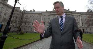 Provost of Trinity College Patrick Prendergast: said a tweet was widely circulated stating that the college had bought him a penthouse apartment at a cost of €1.95 million. Photograph: Nick Bradshaw