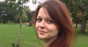 Yulia Skripal was poisoned along with her former double agent father Sergei in Salisbury in the UK last month. Photograph: Facebook