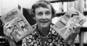 "Swedish writer Astrid Lindgren: was tuned to upheavals for young children. ""It isn't easy for them to adapt, although it can look like that. They just resign themselves to superior forces."""