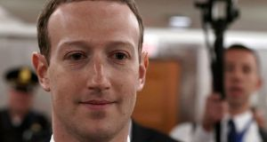 "Facebook CEO Mark Zuckerberg. Addressing criticisms of naivety, Mr Zuckerberg has said: ""I was maybe too idealistic."""