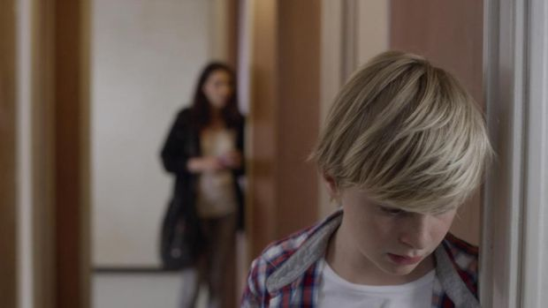 Custody: Thomas Gioria as Julien Xavier Legrand's film