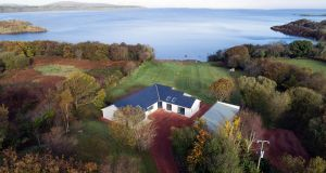 The house in Bofeenaun, Pontoon, Co Mayo, sits on a 1.73-acre private plot and extends to 190sq m (2,050sq ft), with an additional structure alongside measuring 75sq m (807sq ft)