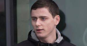 Michael Brennan pictured at  Letterkenny District Court. Photograph: North West Newspix.