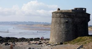 The Martello Tower at Donabate, Co Dublin. Photograph: Tom Honan