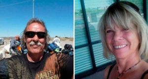North American couple Normand Larose (62) and Rosalyn Joy Few (64) died in the  freak accident.