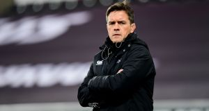 Allen Clarke: his long years at Ulster give the Ospreys coach a unique insight into his club's rivals on Friday. Photograph: Alex Davidson/Inpho