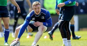 Dan Leavy: his performances have been sensational both for Leinster and Ireland. Photograph: Ryan Byrne/Inpho