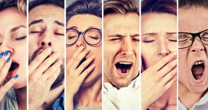 """It is typically associated with boredom, but also commonly with tiredness. So, does a prolonged yawn after a sleep enhance our sense of refreshment, or is it mere drowsiness – a reminder that we could have slept longer?"" File photograph: iStockPhoto"