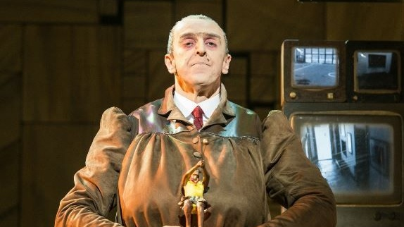 Revolting Craige Els as Miss Trunchbull in Matilda the Musical. Photograph: Manuel Harlan