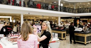"Beauty hall overhaul: a  new ""beauty hub"" promoting niche cosmetics brands is to  be constructed further inside the store"