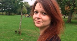 Yulia Skripal, addressed comments made by her cousin Viktoria in the Russian media, asking her not to contact or visit her in Britain. Photograph: AP