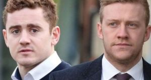 Paddy Jackson and Stuart Olding: acquitted of rape
