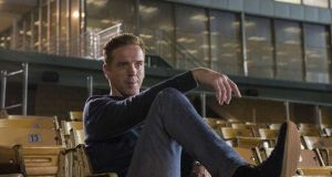 Damian Lewis and his Terrible American Accent in 'Billions'. Photograph: Showtime