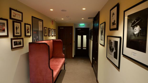 The newly created entrance foyer to the theatre. Photograph: Dara Mac Dónaill/The Irish Times