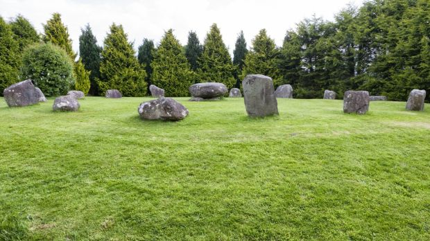 Standing Stone Circle in Kenmare