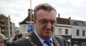 "Lord Mayor of Dublin, Sinn Féin's Mícheál Mac Donncha: Israel expects a ""public and formal"" response from Ireland to his conduct. File photograph: Nick Bradshaw"