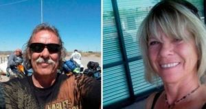 Normand Larose (62) and Rosalyn Joy Few (64) died in a freak accident at the Gap of Dunloe on Monday Normand Larose (62) and Rosalyn Joy Few (64) died in a freak accident at the Gap of Dunloe on Monday.