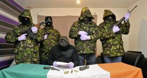 The group is understood to be made up of a breakaway section of the dissident republican organisation Óglaigh na hÉireann, which announced a ceasefire earlier this year.