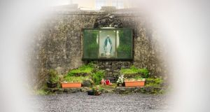 Tuam babies: an altar at the Co Galway burial ground. Photograph: Barry Cronin