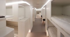 "Airbus  plans to create a ""hotel-like living space"" with sleeping, office and dining areas. Photograph: Airbus"