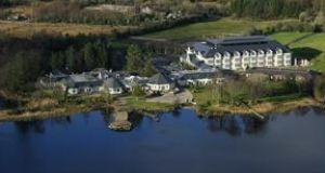 The four-star Harvey's Point hotel in Donegal.