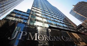 JPMorgan reported a record profit for the first quarter. Photograph: Mike Segar/Reuters