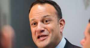 "Taoiseach Leo Varadkar: ""There are too many people waiting to see specialists to get procedures, but we shouldn't judge hospitals based on waiting lists or trolley figures."" Photograph: Gareth Chaney/Collins"
