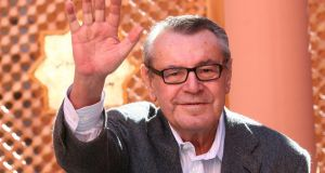 Czech-born filmmaker Milos Forman:  won a deluge of Academy Awards, including best director Oscars. Photograph: Abdeljalil Bounhar/AP