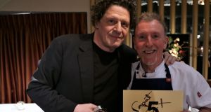 Marco Pierre White and Paul Harrington.