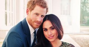 Royal wedding: Prince Harry and Meghan Markle, who get married on May 19th. Photograph: Alexi Lubomirski/Courtesy of Kensington Palace