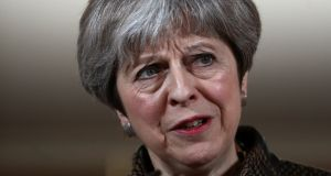 Theresa May will emphasise the broad support the military action received from other western governments. Photograph: Simon Dawson/Reuters