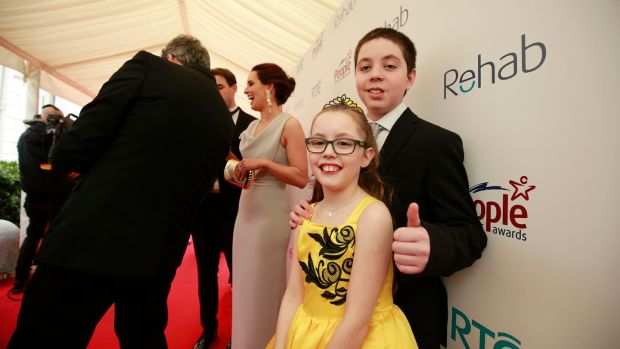 Molly and Harry Flynn from Kilkenny, Young Person of the Year winners. Photograph Nick Bradshaw