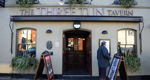 The Three Tun Tavern, a Wetherspoon owned pub in Blackrock, Co. Dublin. The pub has 812 followers on Twitter, but its account hasn't been updated since 2016. Photograph: Bryan O'Brien / THE IRISH TIMES