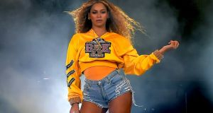 Beyoncé Knowles performs at Coachella. Photograph: Kevin Winter/Getty Images for Coachella