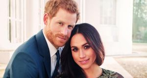 Britain's Prince Harry and Meghan Markle: As if in response to being left lingering in paparazzi limbo, Morton peppers the book with snide references to Markle being a consummate networker and social climber. Photograph: Alexi Lubomirski / Handout via Reuters