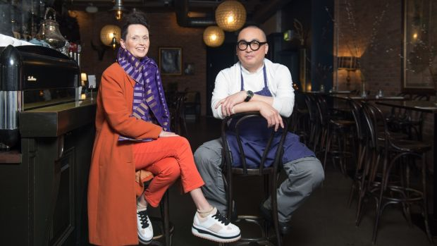 Jeni Glasgow and Reuven Diaz, who run Eastern Seaboard restaurant and Brown Hound Bakery in Drogheda. What sets the tone at Eastern Seaboard is the prominence given to local suppliers. Photograph: Barry Cronin
