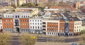 The five office buildings for sale on Merchants Quay, Dublin