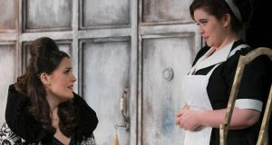 Máire Falvin (Countess) and Tara Erraught (Susanna) in The Marriage of Figaro at the Gaiety Theatre, Dublin. Photograph: Pat Redmond