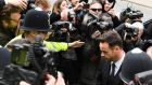 Ant McPartlin arrives at Wimbledon Magistrates Court in London. Photograph:  Chris J Ratcliffe/Getty Images