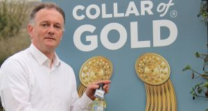 Going for gold: Peter McCloskey set up the Louth-based company just over a year ago and it now employs four people