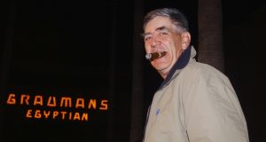 "Actor R Lee Ermey, at a premiere of ""Willard,"" at the Egyptian Theatre in Hollywood in 2003. File photograph:  Jim Ruymen/Reuters"